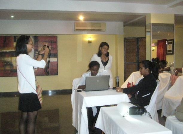 Les internes qualifiants en rééducation au taquet avant leurs présentations !