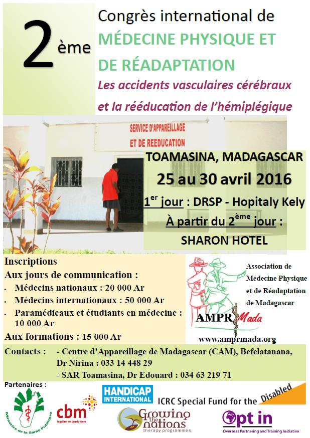 CONGRES 25 ~ 30 AVRIL 2016