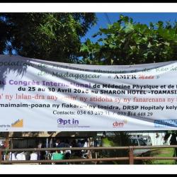 Cérémonie d'ouverture officielle du Congrès au DRSP Atsinanana